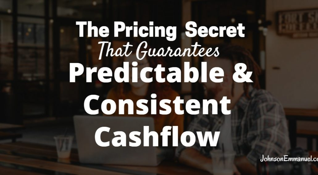 The pricing strategies that grows cashflow